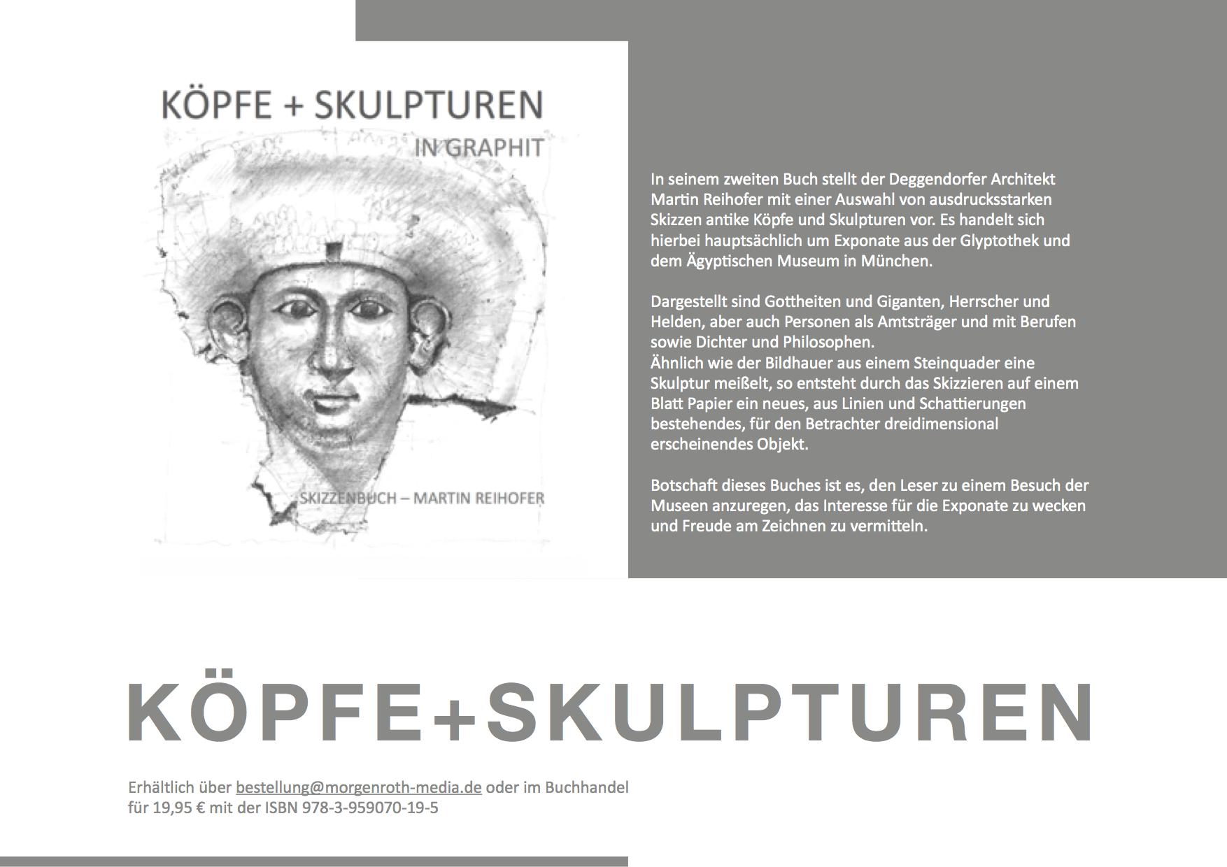 Köpfe+Skulpturen von Martin Reihofer